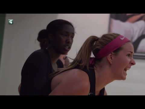 Michigan State Women's Basketball Practice Update