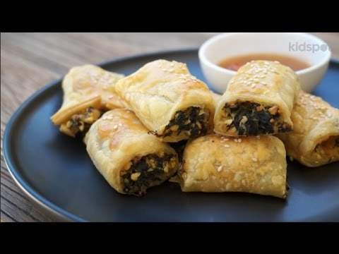 Easy recipe: How to make pumpkin spinach and feta rolls