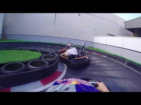 Onboard Footage - Toby Price at Slideways Go Karting Gold Coast