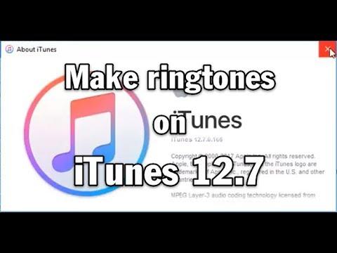 Adding Custom Ringtones for iPhone on iTunes 12.7.1