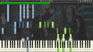 Download The Avengers -[Synthesia ] Video
