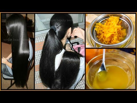 How To Grow Extremely Long & Thicken Hair - Magical Hair Regrowth Treatment