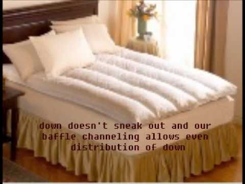 DownToPillows.com Feather Beds