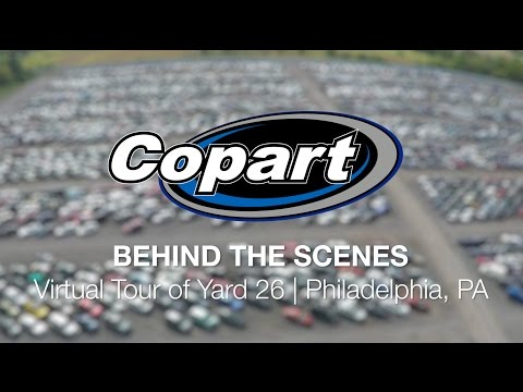 Copart: Behind the Scenes – Virtual Tour of Yard 26 | Philadelphia, PA