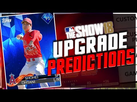 MLB THE SHOW 18 (ROSTER UPDATE PREDICTIONS) #1