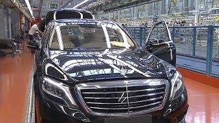 Так собирают Ваш Mercedes-Benz S класс и G класс