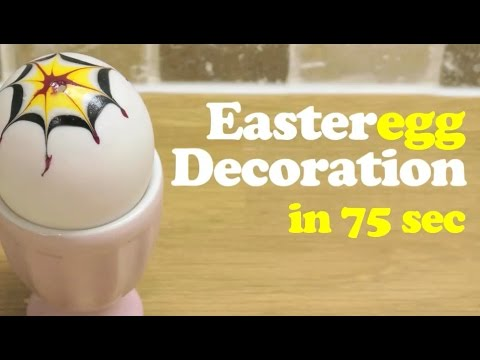 Easter Egg decoration • The Quick Brown Fox
