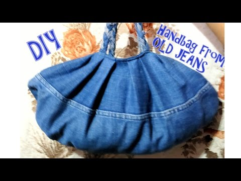 How to make handbag from old jeans | Don't waste your old jeans (try this)