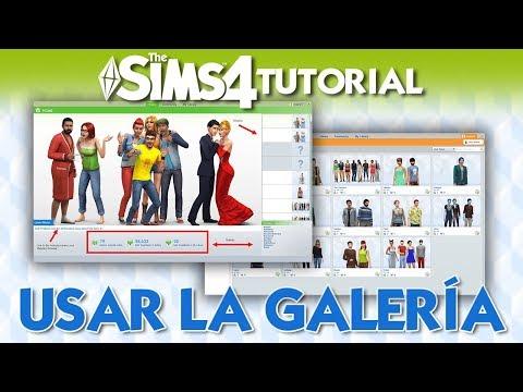 Como usar la Galería en Los Sims 4 Tutorial   Trucos y Consejos