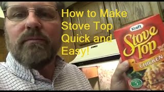 How To Make Stove Top Stuffing Mix Really Easy And Delicious