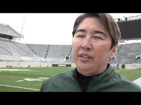 Amy Fouty Brainchild Behind Spartan Stadium Turf | Current Sports | WKAR