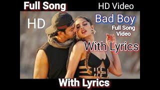 Bad Boy Full Song (Lyrics) | Sahoo Movie Song | Prabhas , Jaqueline Fernandez | Badshah | Bad Boy