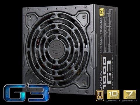 ✅EVGA SuperNOVA G3 1000 Watt Power Supply - Review