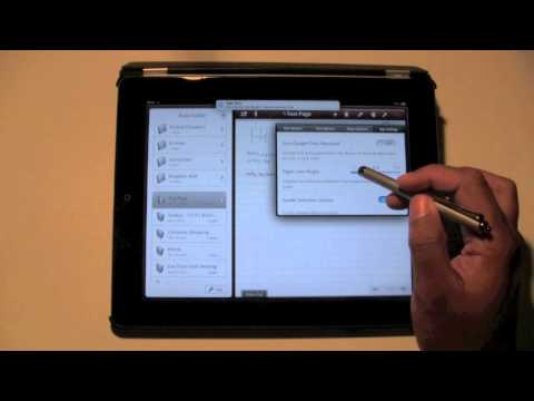 iPad: Great Handwriting App (Notes Plus)​​​ | H2TechVideos​​​