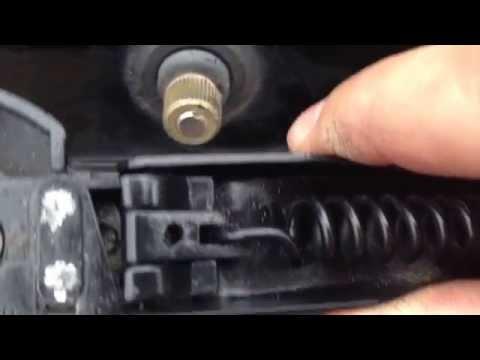 Dodge Grand Caravan Rear Wiper Arm Removal and Repair