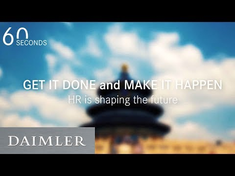 60 Seconds | GET IT DONE and MAKE IT Happen! HR Conference in Beijing