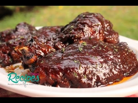 Oven Baked Barbecue Turkey Wings - I Heart Recipes