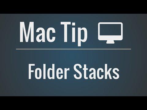 Mac Tip: Adding Folder Stacks to the Dock