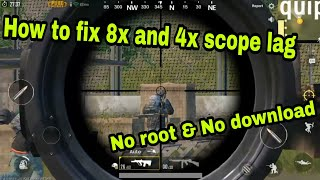 Fix 4x scope lagging in PUBG mobile(NO ROOT NEEDED!!) - PlayingItNow
