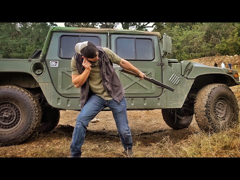 How Bulletproof are Kevlar Humvee Tires???