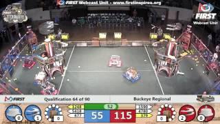 Qual 64 - 2017 Buckeye Regional