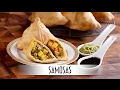 Samosas   Savory Fried Indian Appetizer