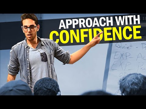 [PRIVATE TALK] The 4 Steps to Increase Confidence to Approach   Psychology of Confidence & Tribalism