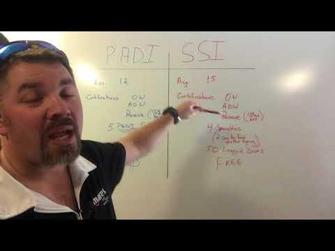 PADI vs SSI Master Scuba Diver Certification