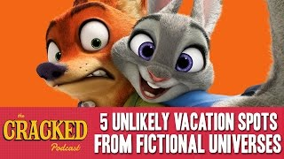 5 Unlikely Vacation Spots From Fictional Universes