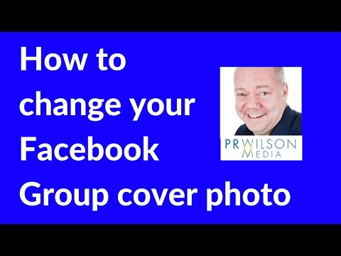 How to change your Facebook group photo cover 2017