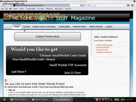 How to get free Gold and VIP On Smallworlds
