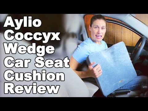 Aylio Coccyx Comfort Wedge Cushion for Car Seat Review - Ask Doctor Jo