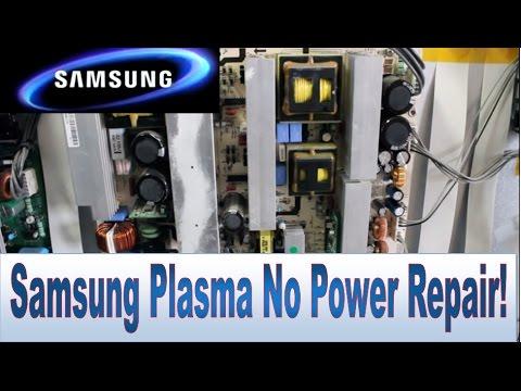 How to Repair Samsung TV Plasma 50