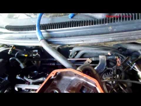 Chrysler Sebring, Remove Rear Valve Cover