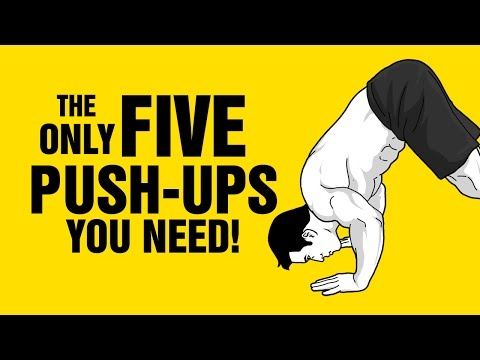 The Only 5 Push-ups You Will ever Need To Build a Great Upper Body!