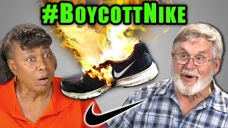 Elders React To People Burning Their Nike Shoes (#BoycottNike, Kaepernick Kneeling Controversy)