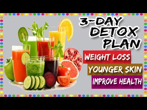 3-Day Detox Plan to Improve Health - Detox Plan for Weight Loss - Detox Plan to Make Skin Younger