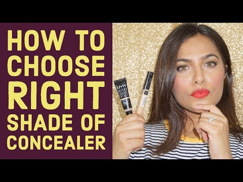 How to choose RIGHT shade of CONCEALER | Beginners Makeup Tips & Tricks  |Urban Panache