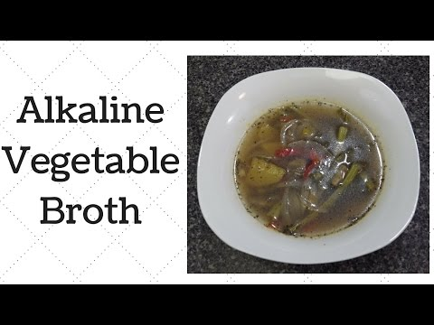 Vegetable Broth Dr. Sebi Alkaline Electric Recipe