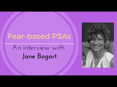 Fear Based PSAs with Jane Bogart of CUMC