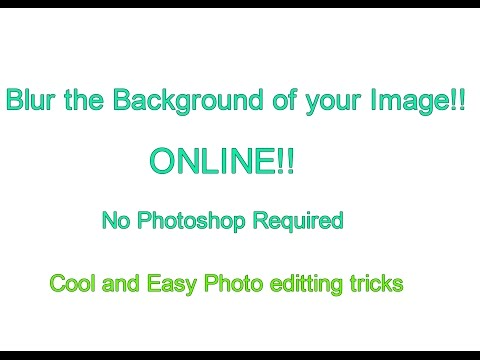 How to Blur the Background of an Image Online [Without Photoshop]