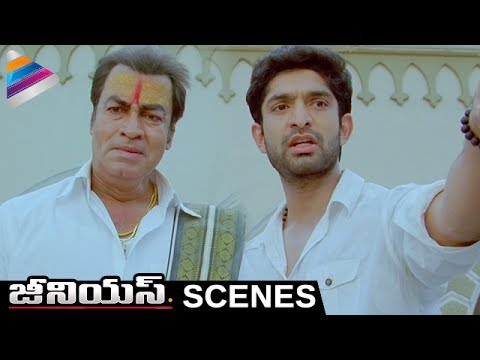 Havish Helps Pradeep Rawat | Genius Telugu Movie Scenes | Havish | Shweta Basu Prasad | Sarathkumar