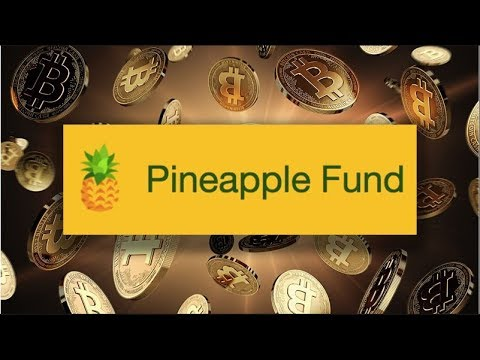 BITCOIN DONATIONS! (WHAT IS THE PINEAPPLE FUND?)