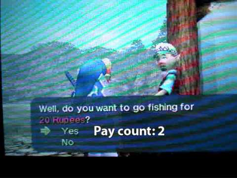 Finding the Hylian Loach in Ocarina of Time 3D