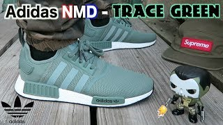 Adidas NMD R1 Trace Green ON FEET Review!!!