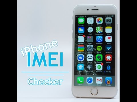 iPhone IMEI CHECKER, CHECK Carrier Lost Stolen Blacklisted IMEI Status