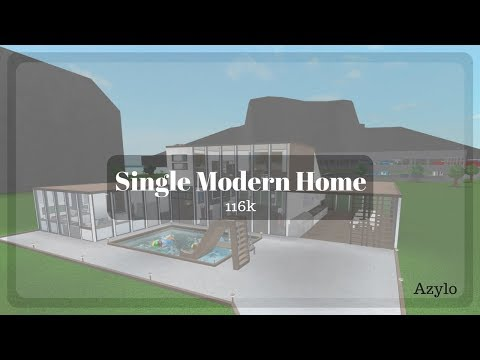 Roblox | Bloxburg: Single Modern Home (116k)
