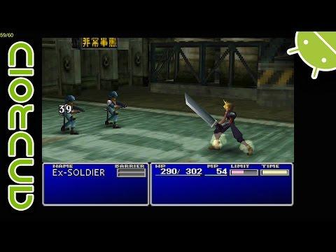 Final Fantasy VII | NVIDIA SHIELD Android TV (2015) | ePSXe Emulator [1080p] | Sony PS1