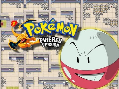 Pokemon FireRed - Power Plant - (Finding Zapdos) - Part 1/2 - (GBA)