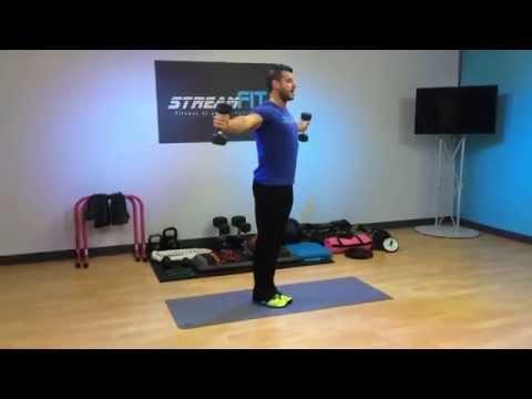 Scrumtrulescent Shoulders Workout